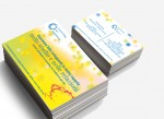 "Biglietto da visita e Card pubblicitaria per ""Counseling for Happiness"""