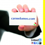 Carmelo Meo, Consulente web marketing. a PAOLA